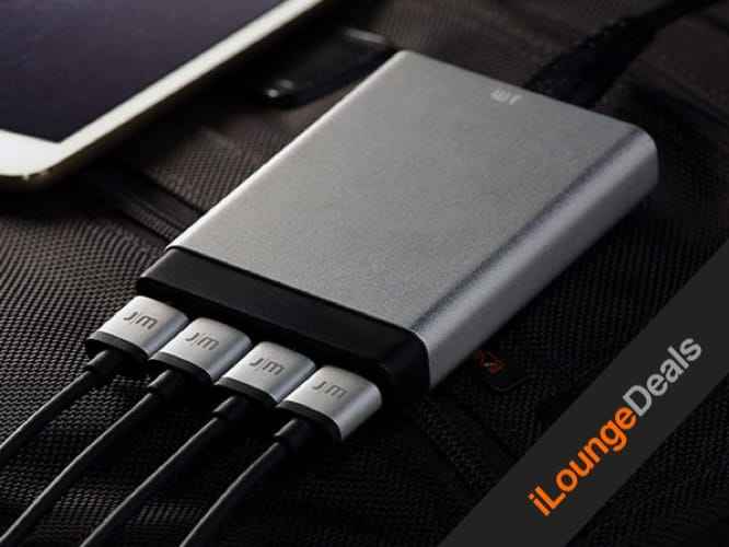 Daily Deal: Just Mobile AluCharge Ultra Slim 4-Port Rapid USB Charger