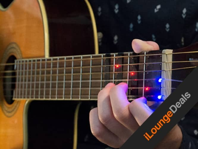 Daily Deal: FRETX Smart Guitar Learning Device