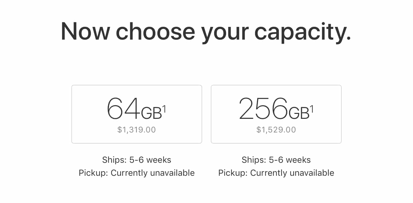 iPhone X pre-orders predictably sell out within minutes