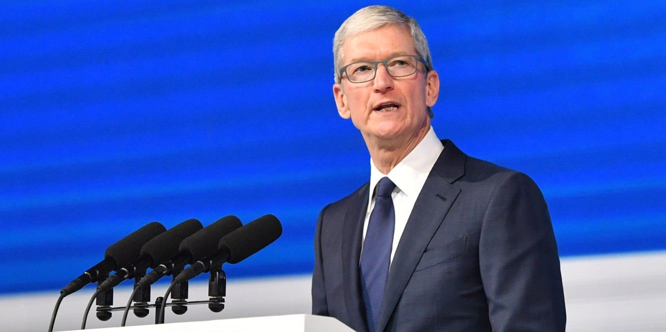 Tim Cook touts privacy, security at Chinese conference promoting internet censorship