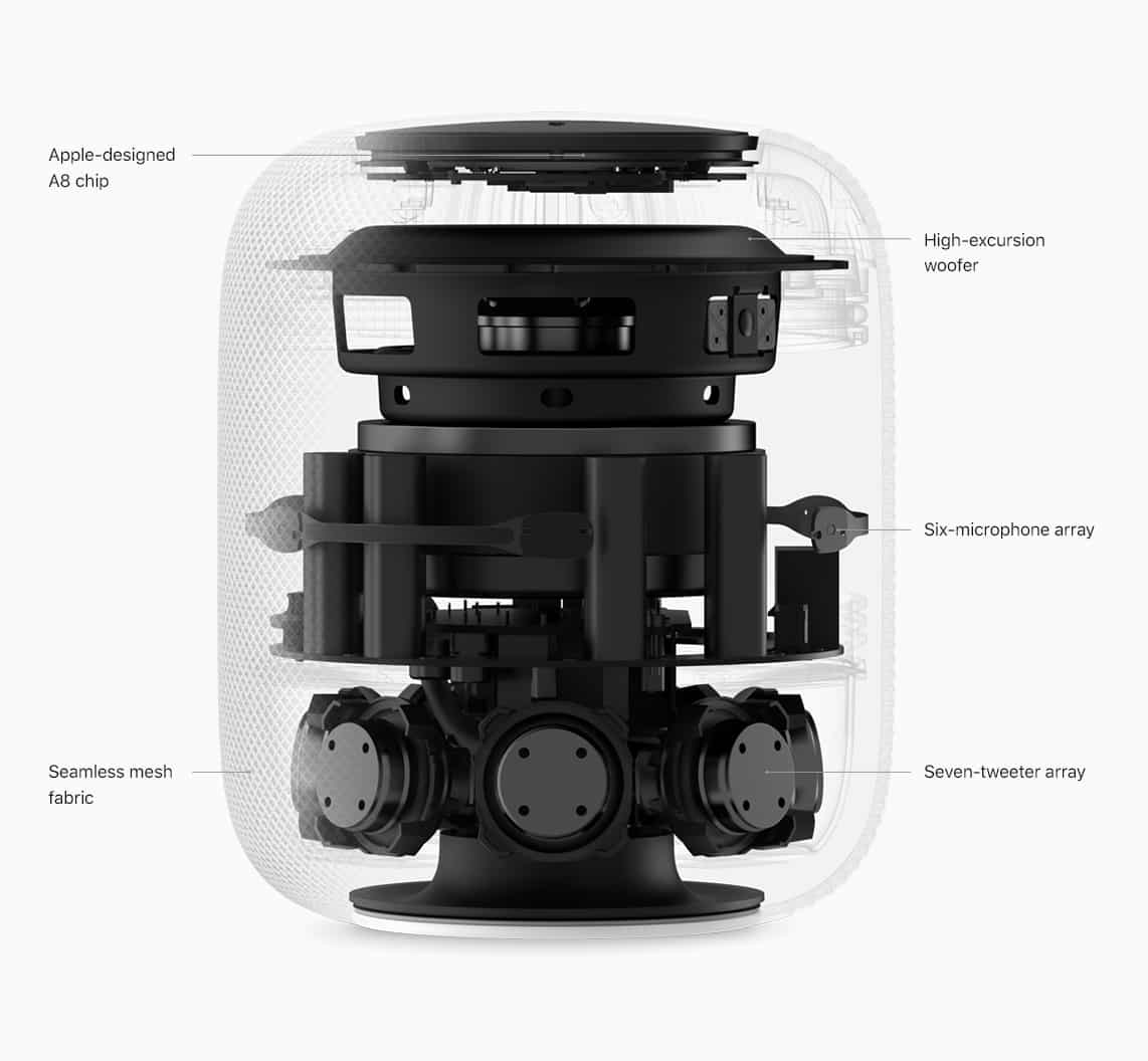 HomePod preorders open in the US, UK, and Australia, includes removable 2m power cable