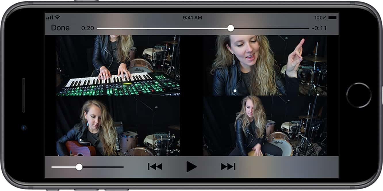 Roland announces new app for creating split screen music videos
