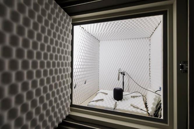 Apple provides sneak peek inside lab where HomePod was developed