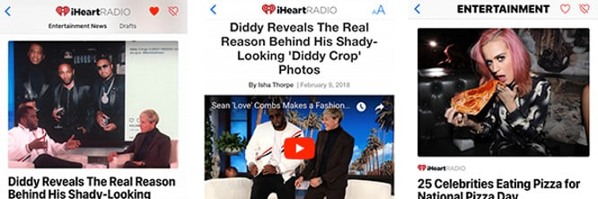 iHeartRadio editorial content added to Apple News offering