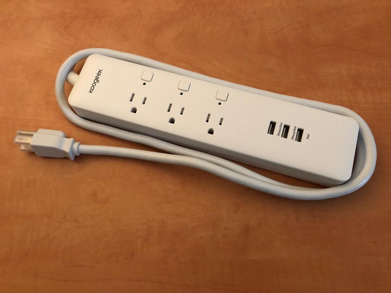 Review: Koogeek Wi-Fi Enabled Smart Outlet HomeKit Power Strip