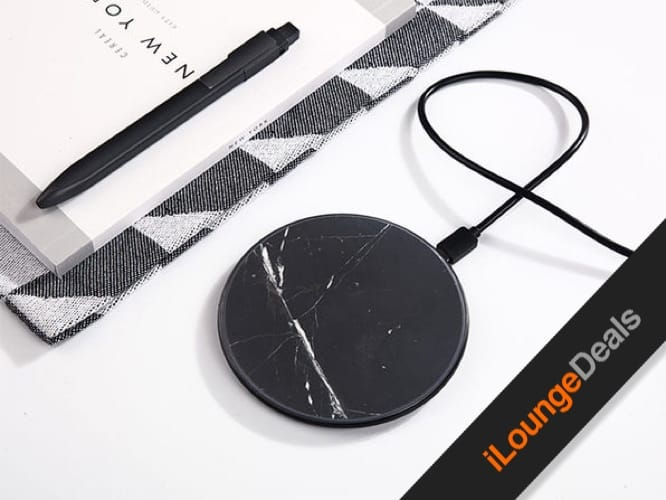 Daily Deal: Takieso Marble Qi Wireless Charger