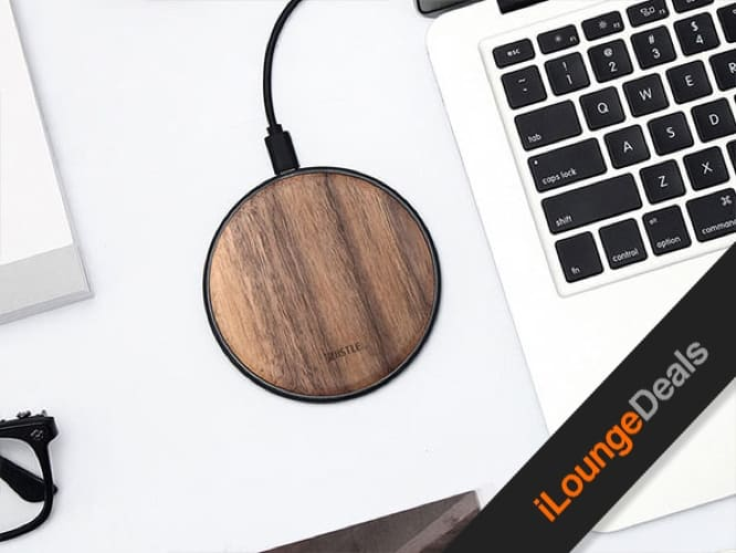 Daily Deal: Takieso Walnut Qi Charger