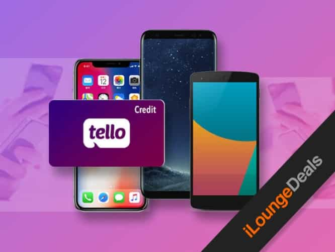 Daily Deal: Get a $39 Tello Credit for only $9.99