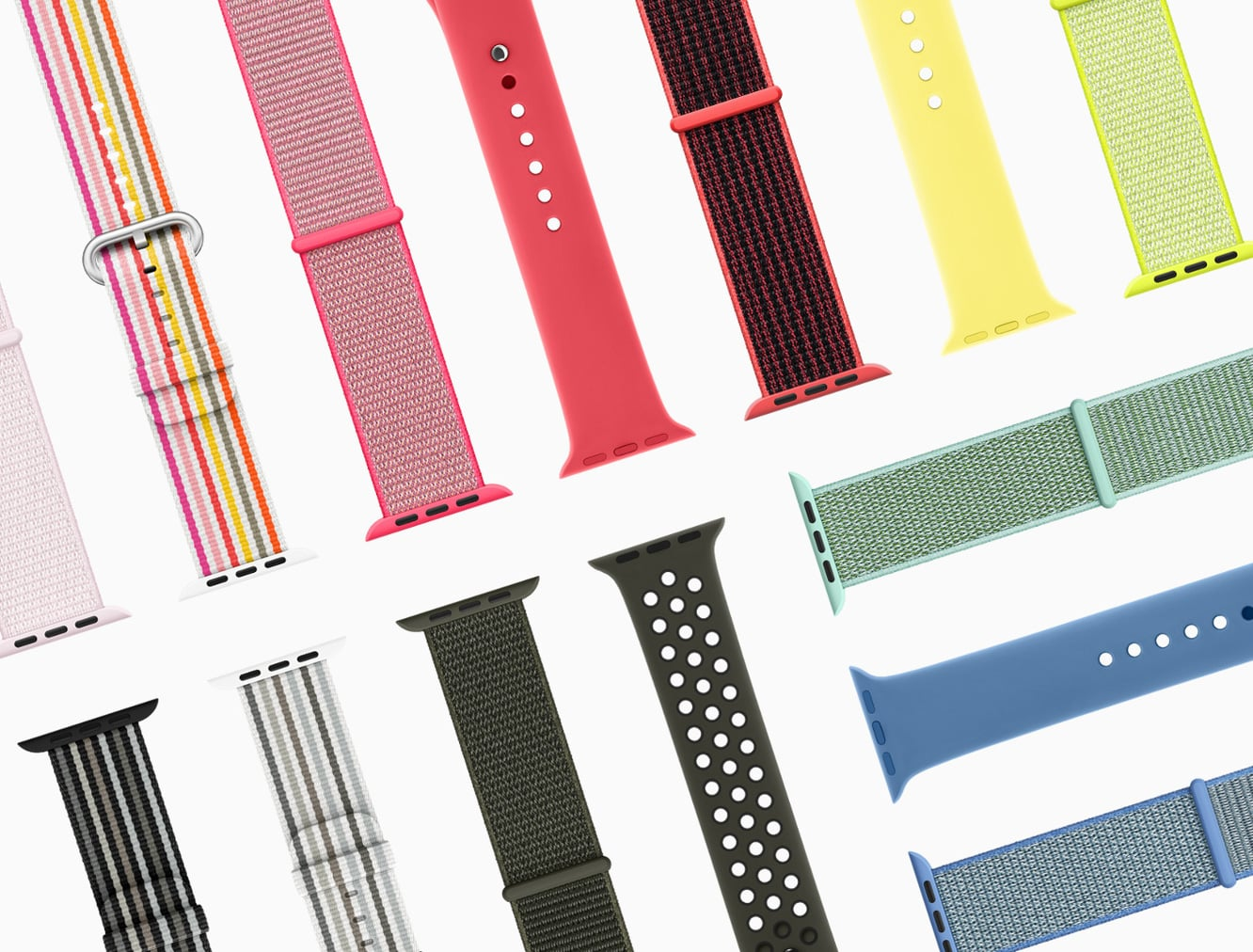 Apple reveals new Apple Watch bands for spring