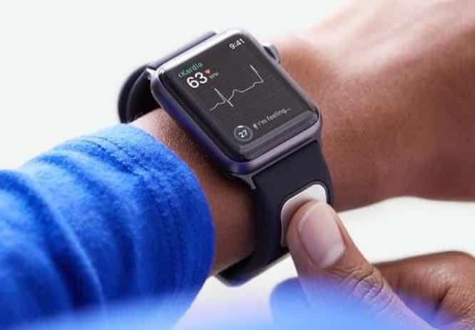 Studies verify smartband for the Apple Watch can detect high potassium, atrial fibrillation symptoms
