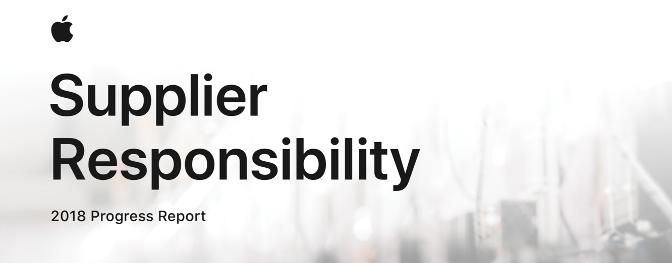 Apple releases 12th annual Supplier Responsibility Progress Report