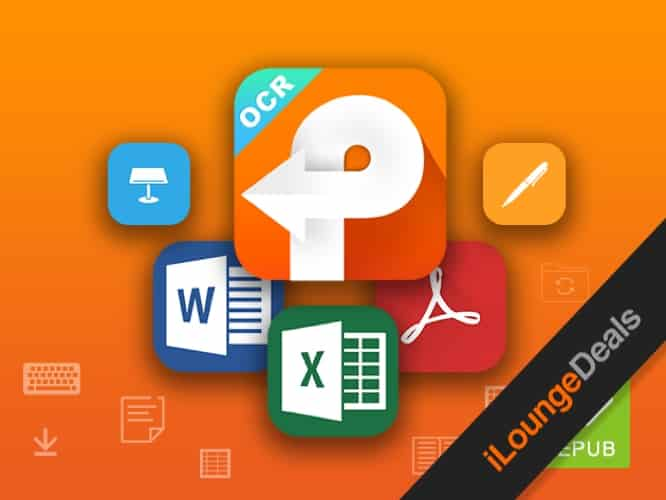 Daily Deal: PDFConverterOCR 5, Lifetime License