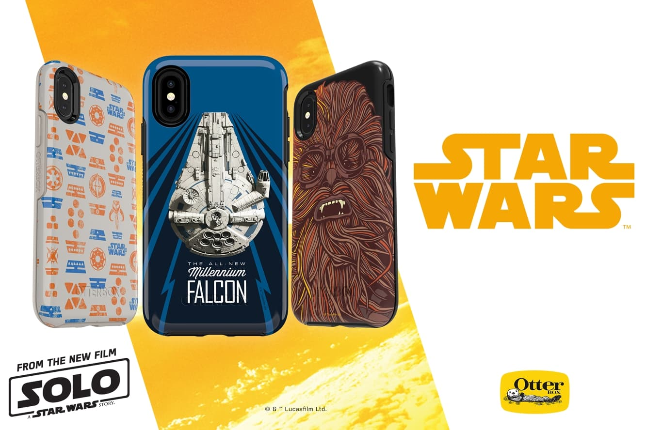 OtterBox releases new case designs for Solo: A Star Wars Story