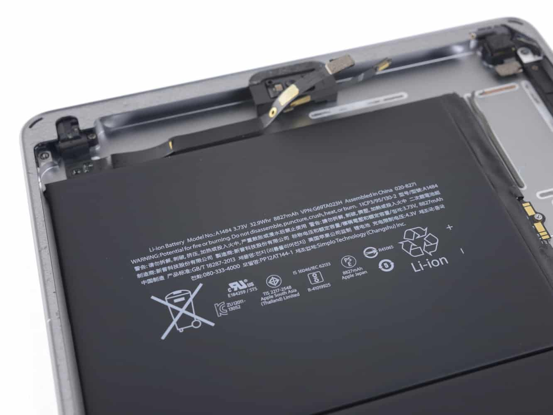 iFixit publishes 'iPad 6' teardown