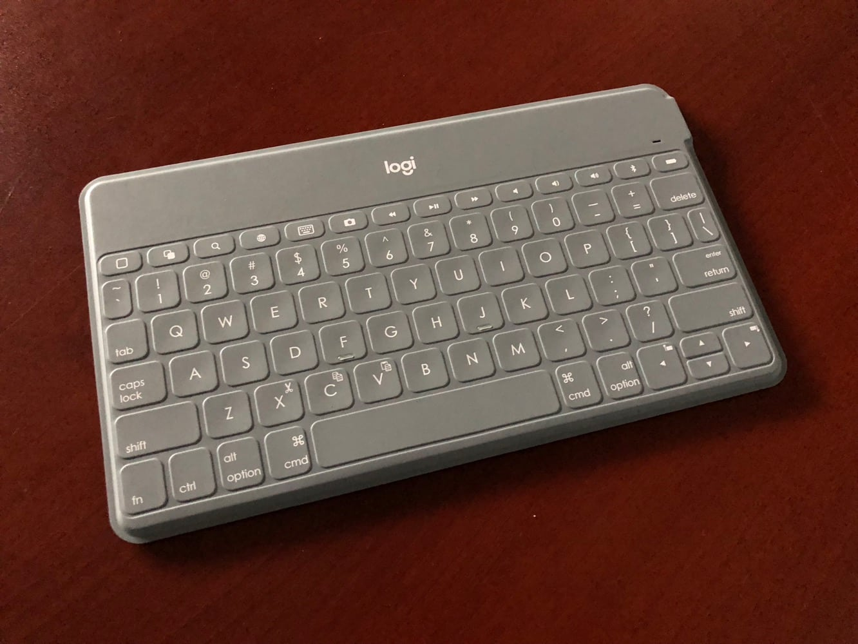 Logitech Keys-To-Go Portable Bluetooth Keyboard