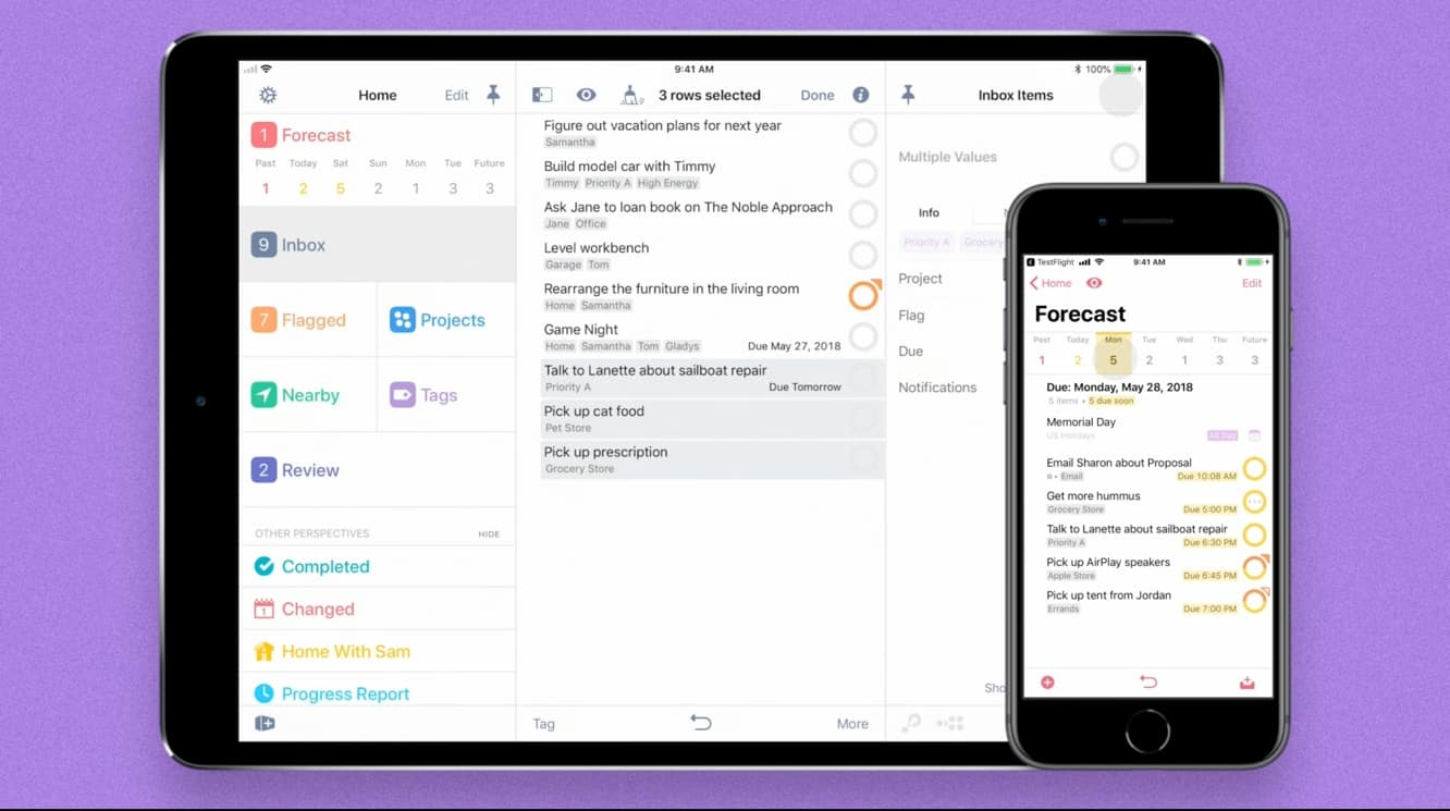 The Omni Group releases OmniFocus 3 for iOS