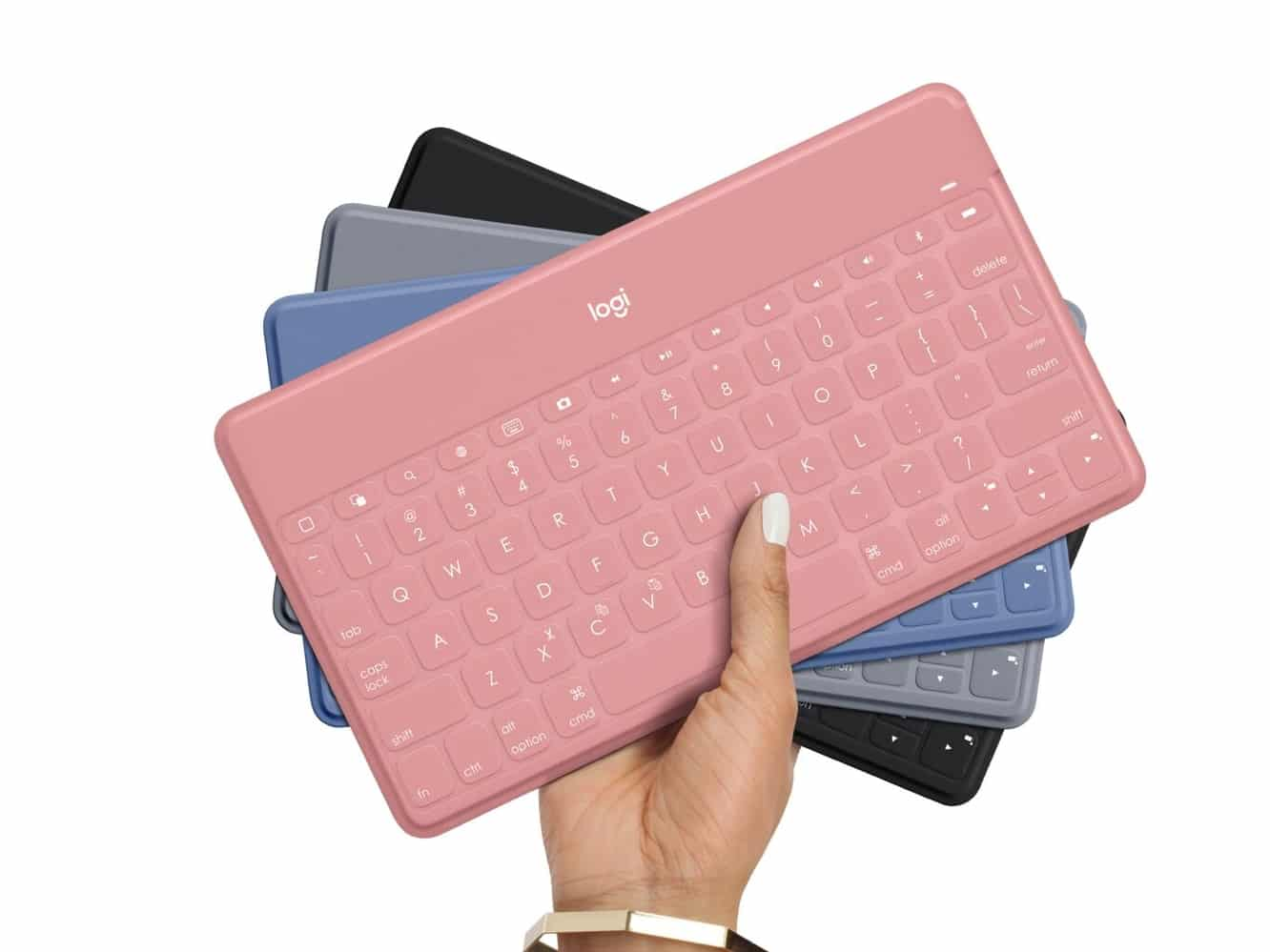 Logitech releases Keys-to-Go in three fun new colors