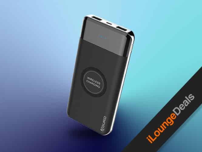 Powerup Wireless Charging 10,000mAh Dual USB Battery