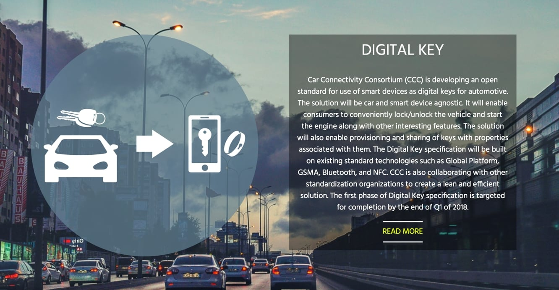 Apple part of consortium working on Digital Car Key spec