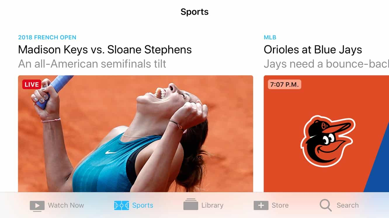 Live sports and news comes to Apple TV app in Canada
