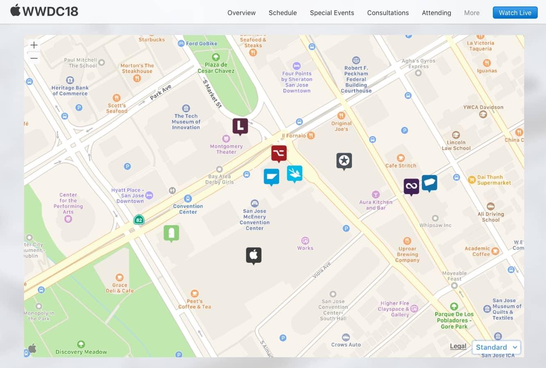 Apple releases web-embeddable Apple Maps framework