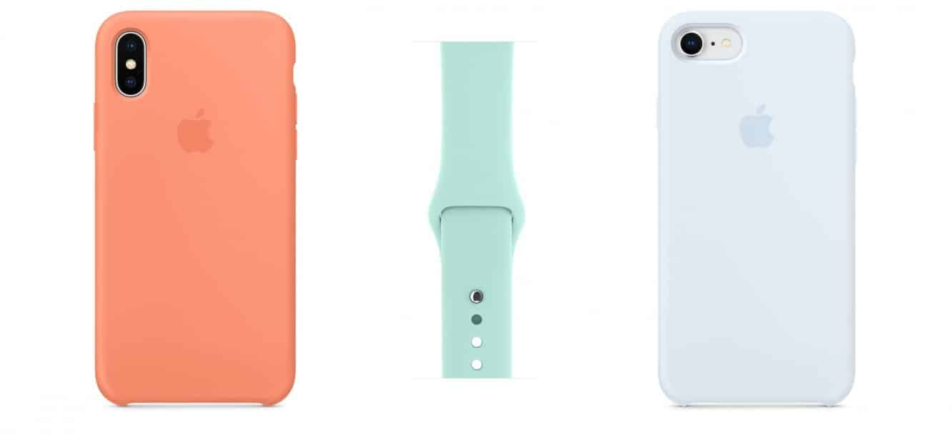 Apple unveils new silicone iPhone case colors, Apple Watch bands