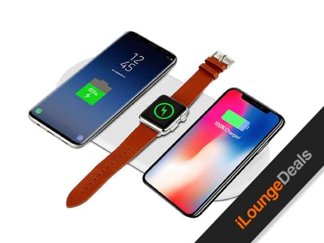 Daily Deal: iPM 3-in-1 Fast Wireless Charging Pad