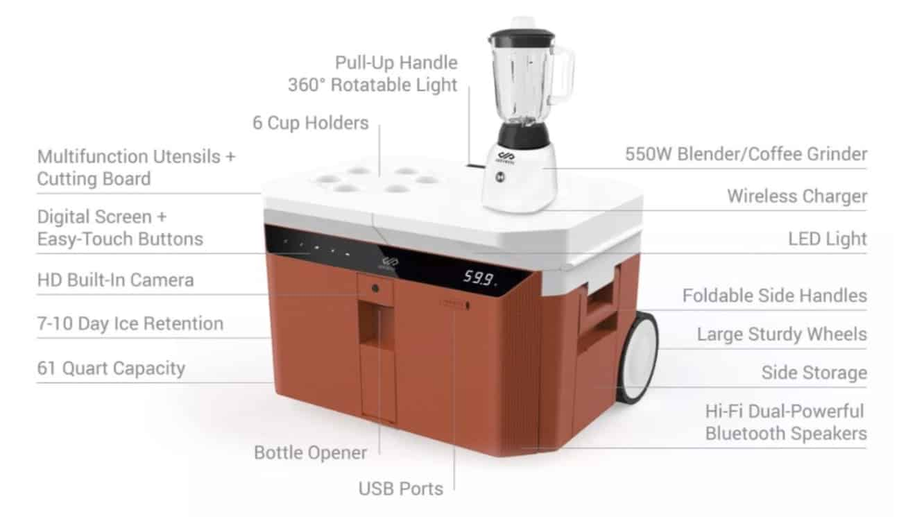 The Infinite Cooler launches on Indiegogo