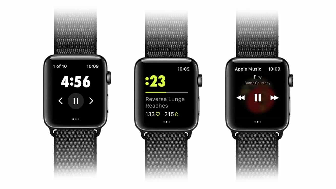 Nike Training Club lands on the Apple Watch