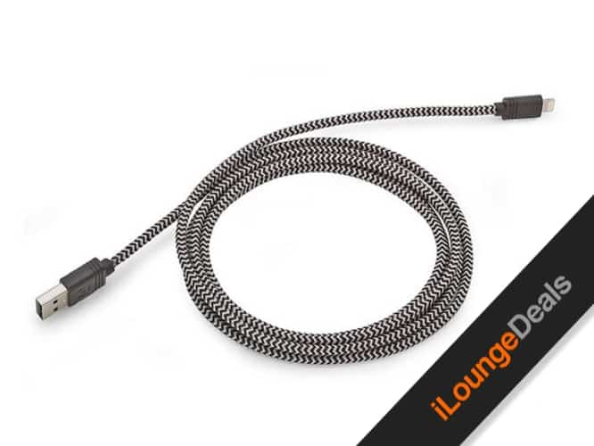 Daily Deal: 10-Ft Cloth MFi-Certified Lightning Cable