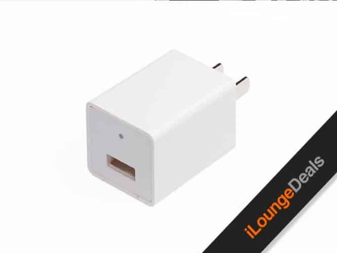 Daily Deal: USB Wall Charger With Hidden Camera