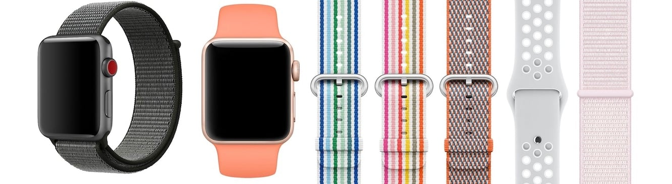 Numerous Apple Watch bands removed from online Apple Store