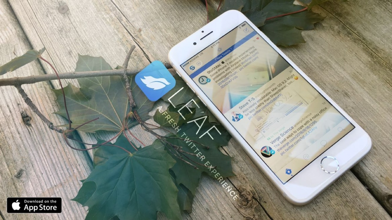 Twitter client Leaf discontinued as a result of Twitter API changes
