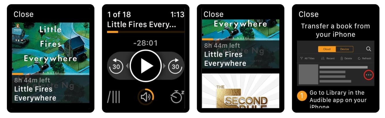 Audible adds offline playback support for Apple Watch