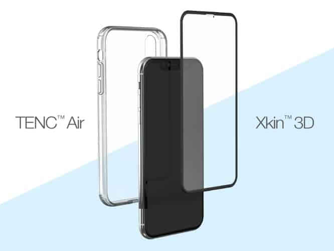 Just Mobile announces new clear case and glass lines for iPhone XS, XS Max, and XR
