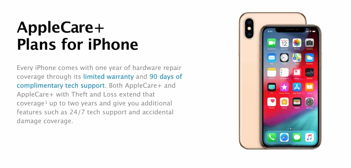 Apple introduces new AppleCare+ theft and loss coverage in the U.S.