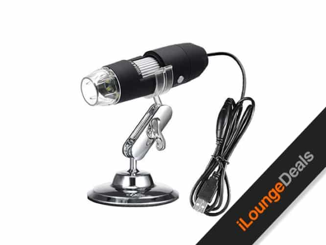 Daily Deal: Microscope Camera with 1000X Zoom