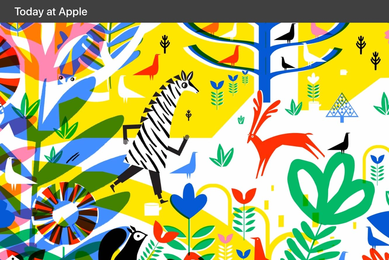 Apple hosting special Today at Apple sessions for 'The Big Draw'