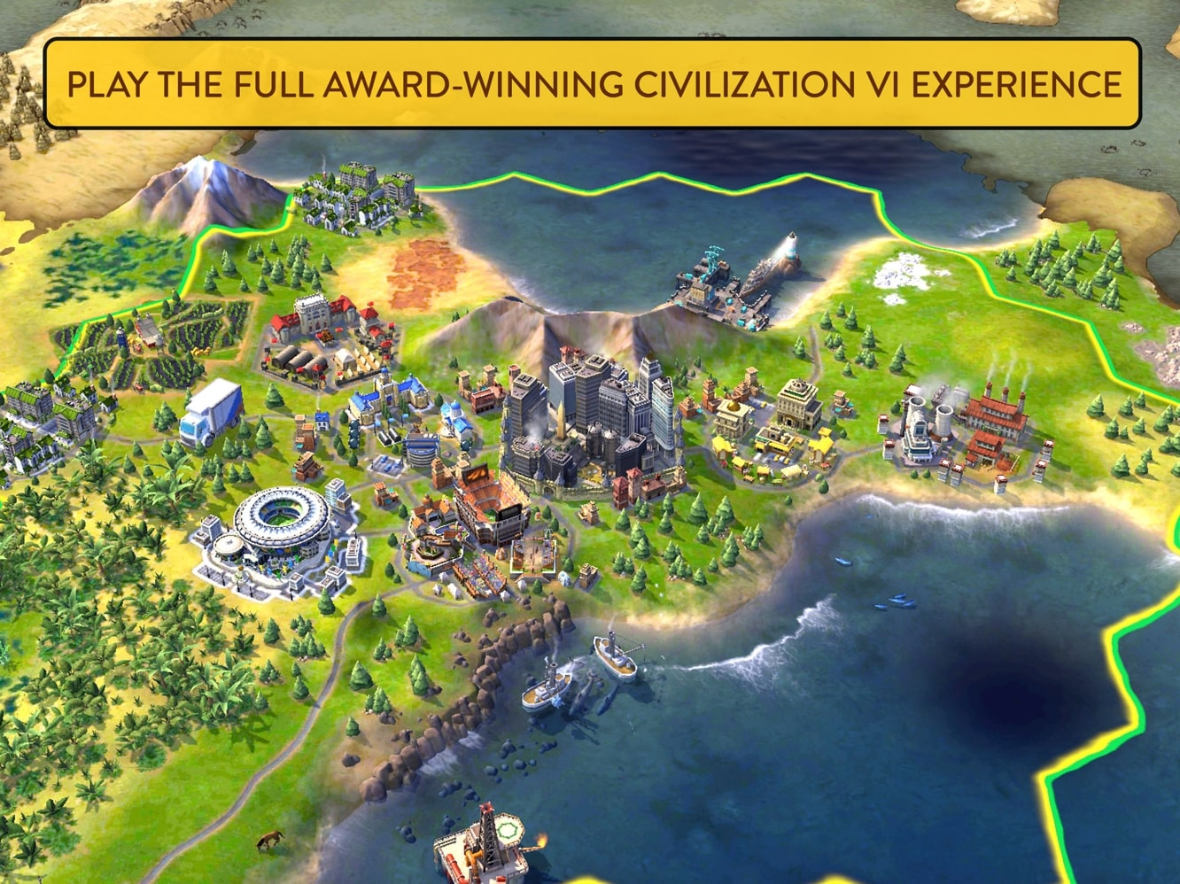 Sid Meier's Civilization VI comes to the iPhone