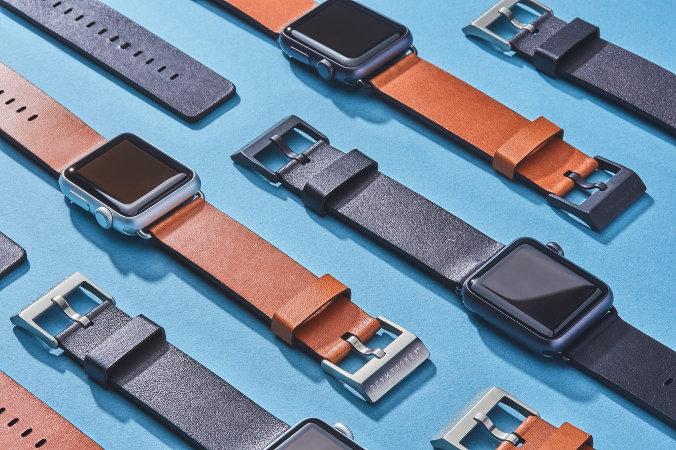 Grovemade announces leather band for Apple Watch Series 4