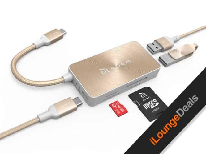 Daily Deal: CASA Hub + PeAk USB Adapter Bundle