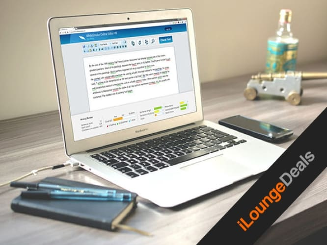 Daily Deal: WhiteSmoke Writing Assistant, Lifetime Premium Subscription