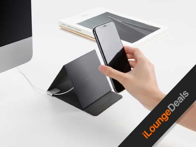Daily Deal: Ziistle Triangle Foldable Wireless Qi-Certified Charger