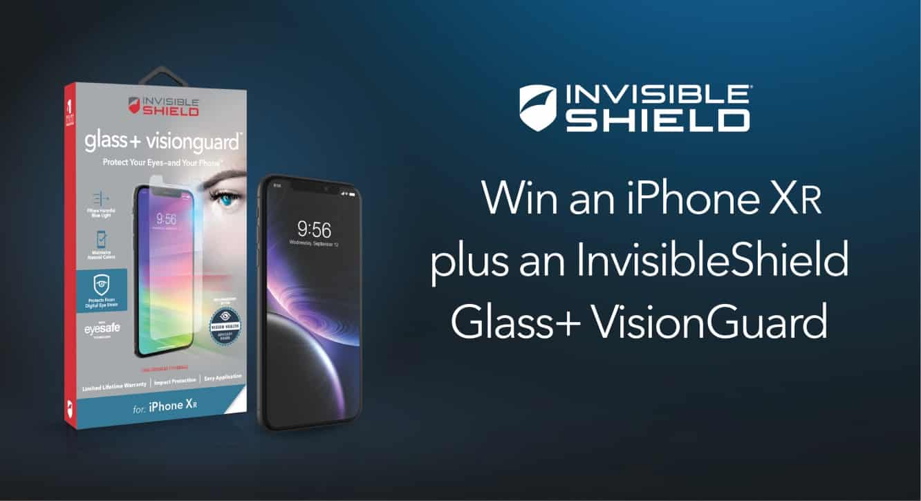 Announcing the winner of our iPhone XR and InvisibleShield Glass+ VisionGuard Giveaway