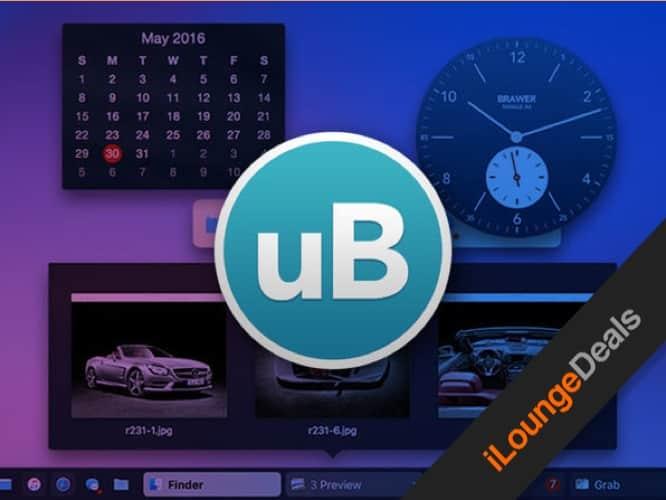 Daily Deal: uBar 4 Toolbar for Mac