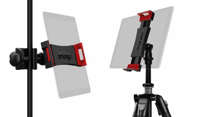 IK Multimedia introduces new iKlip 3 series iPad mounts