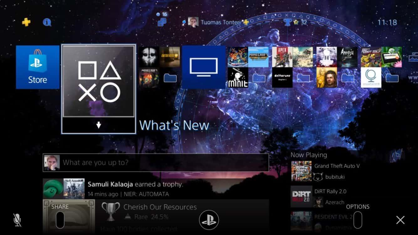 PS4 Remote Play iOS Screenshot