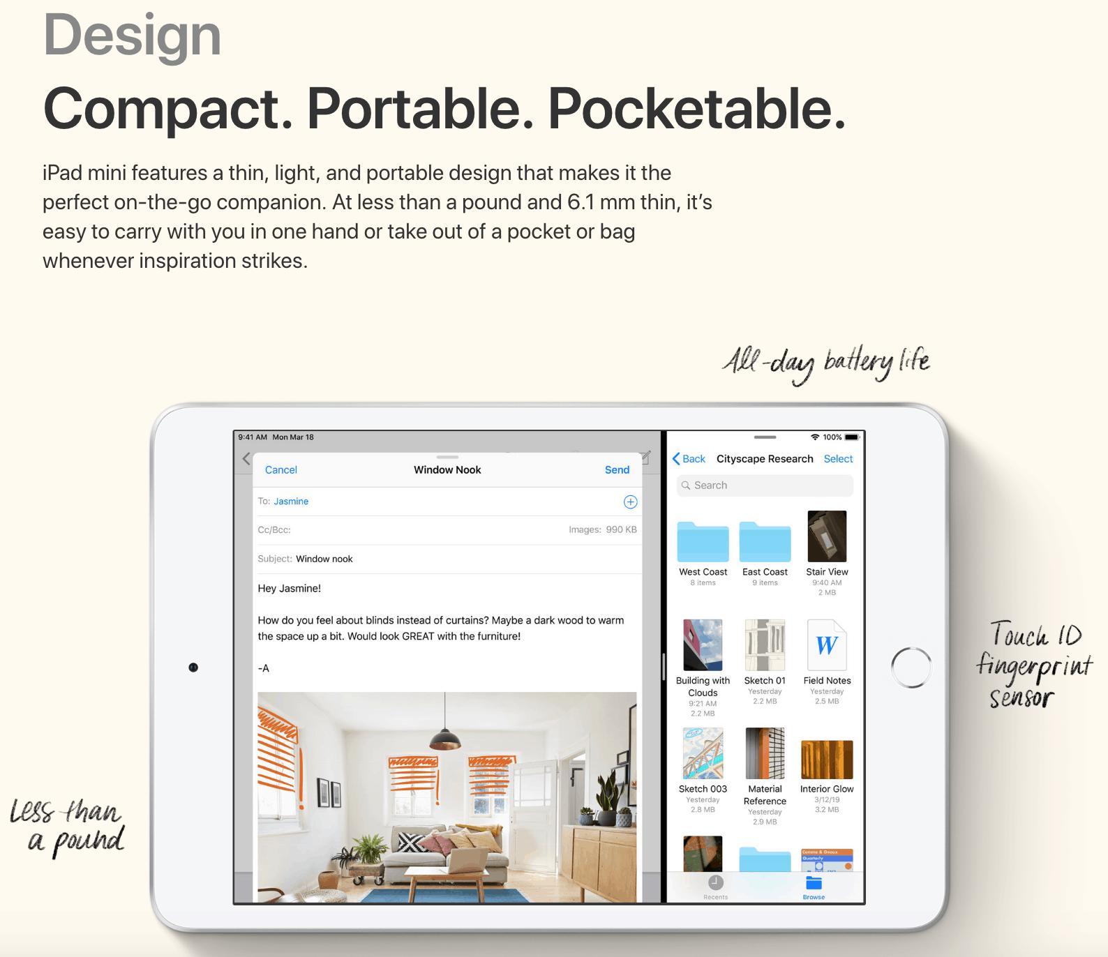 iPad Mini 5 Image 1