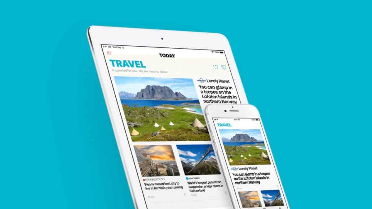 Apple's news subscription service
