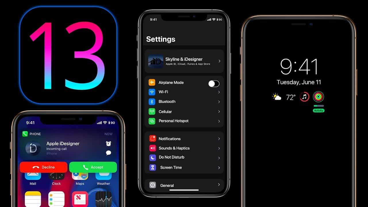 iOS 13 rumored to introduce Dark Mode 1